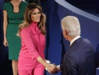 Melania Trump pussy bow (Patrick Semansky / Associated Press)