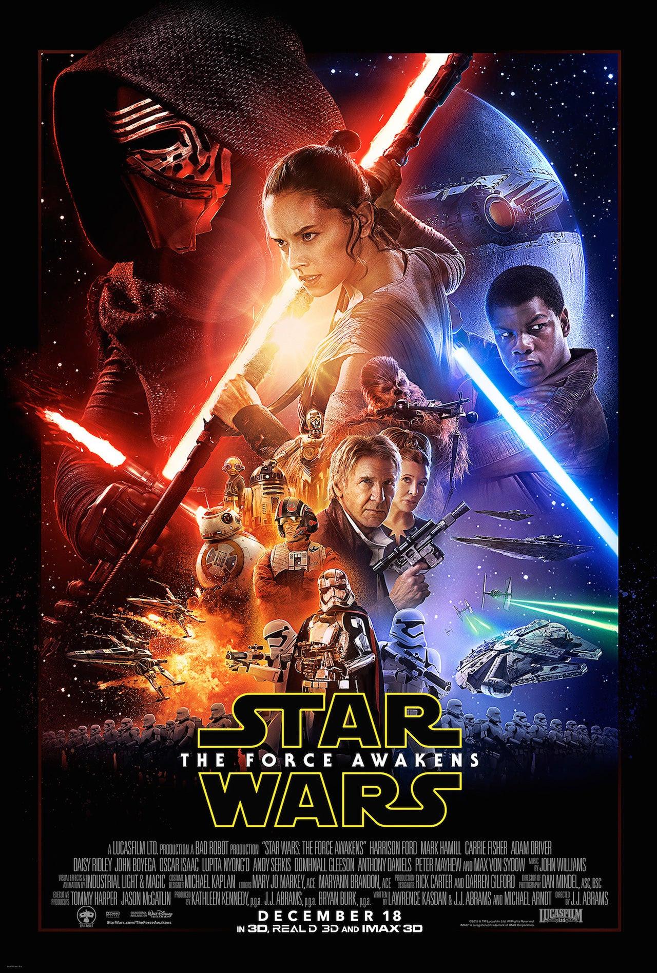 Resultado de imagen para star wars the force awakens poster