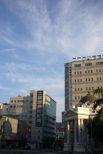 舊市區的天空