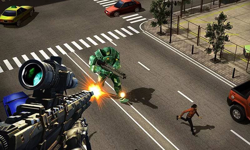 game Sniper Robots cho android