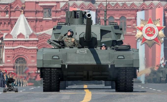 Fogo! O tanque russo Armata já foi testado na Síria