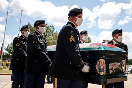 Mourners Remember Fort Hood Spc. Vanessa Guillen