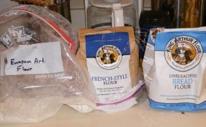 BBB BBB More KA Flour I used for Pane Francese