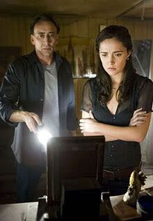 Nicolas Cage and Rose Byrne in KNOWING.