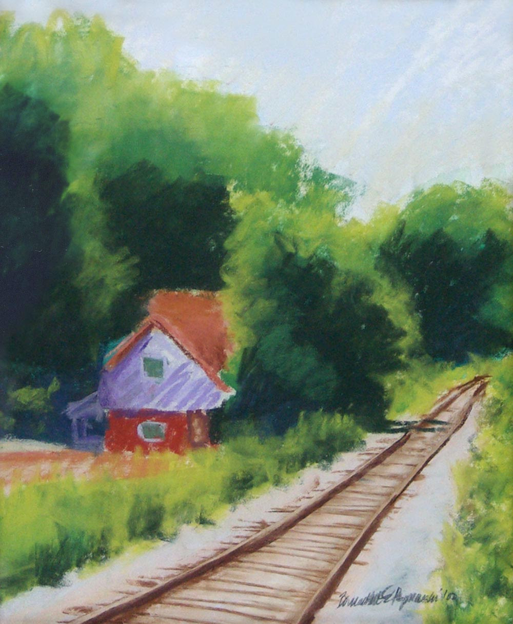 Painting Pastel House
