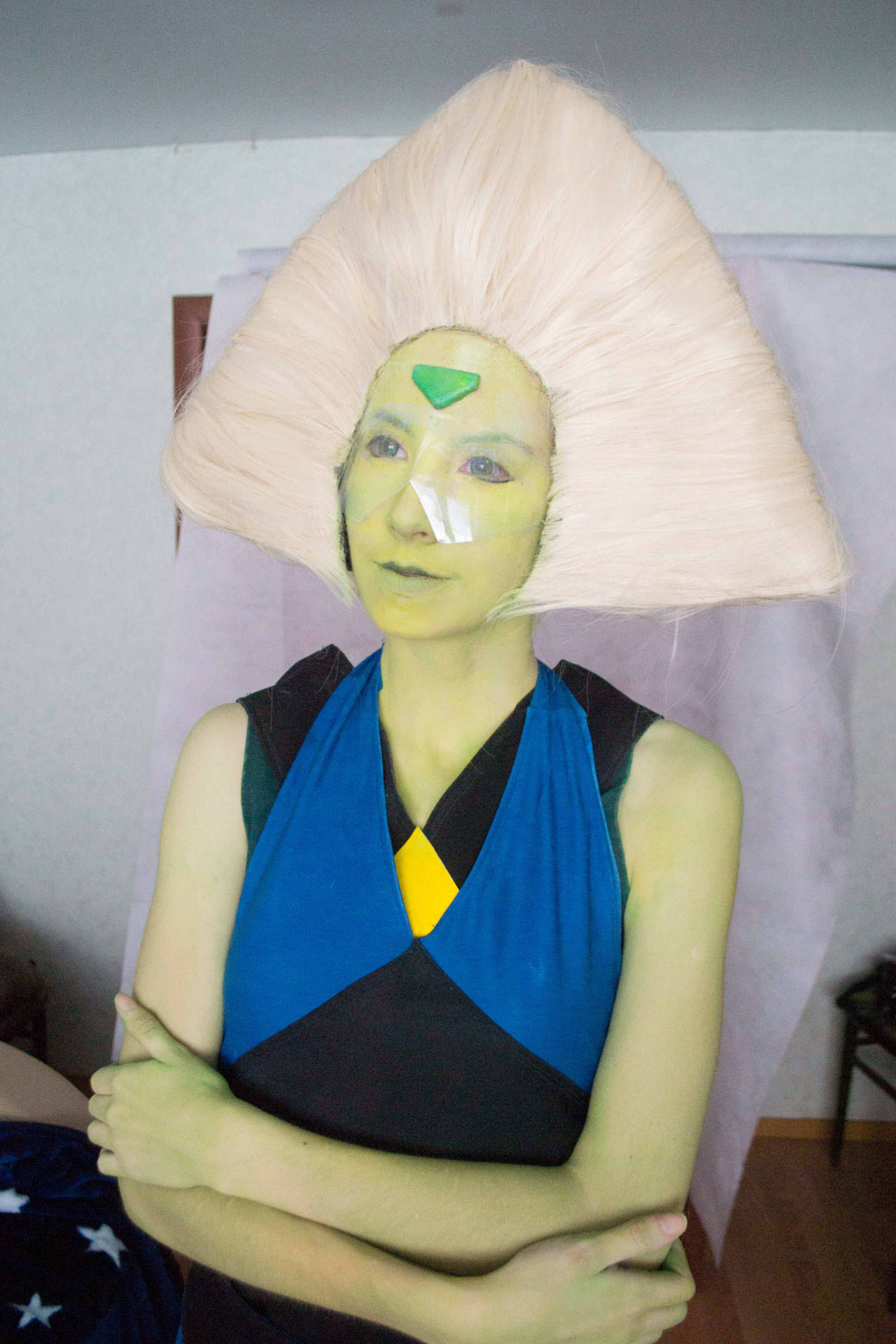 Peridot in clothes of Lapis
