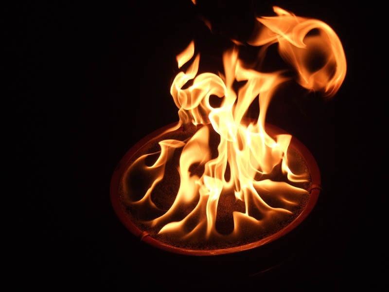 propane fire pit | Shelterness