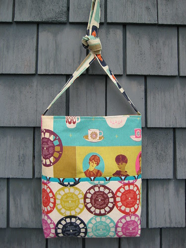 Hipster bag by Poppyprint