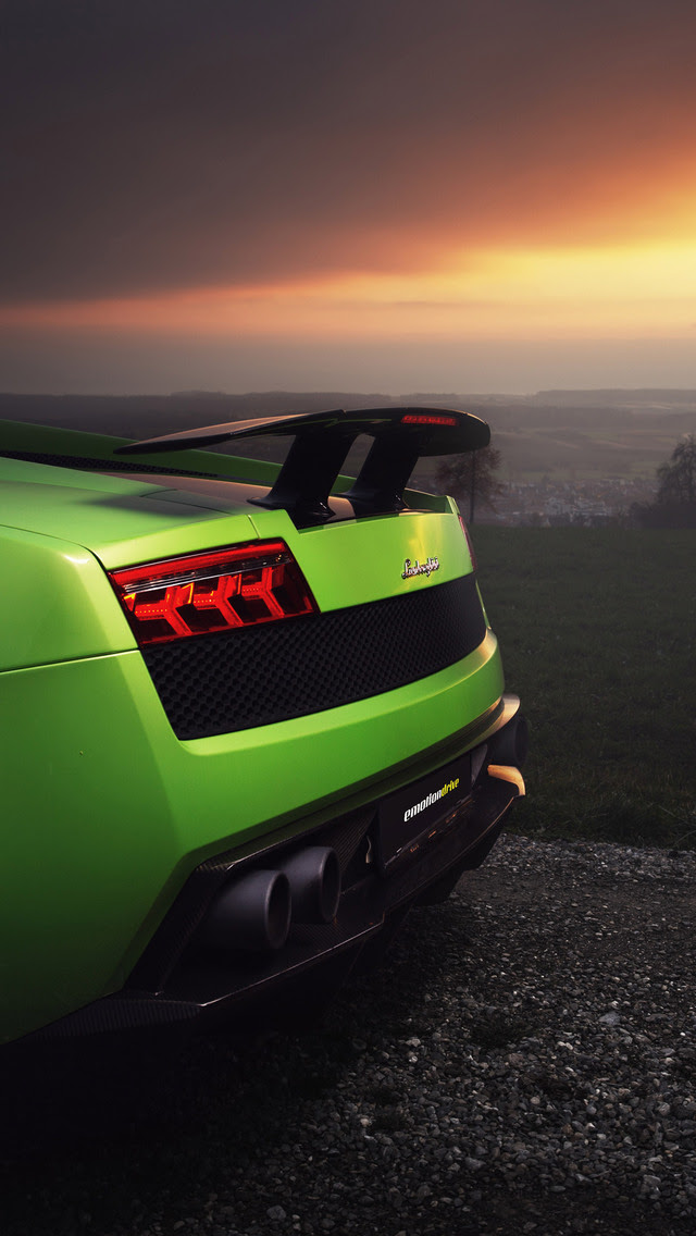 640x1136 Lamborghini Gallardo Superleggera HD iPhone 5,5c,5S,SE ,Ipod Touch HD 4k Wallpapers