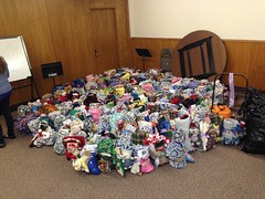 205 Christmas Stockings for Restore Innocence and victims of human trafficking.