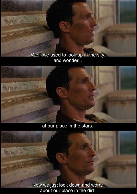 Interstellar Movie Quotes Hollywood Movie Quotes Escapematter