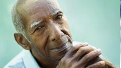 an elderly African American man