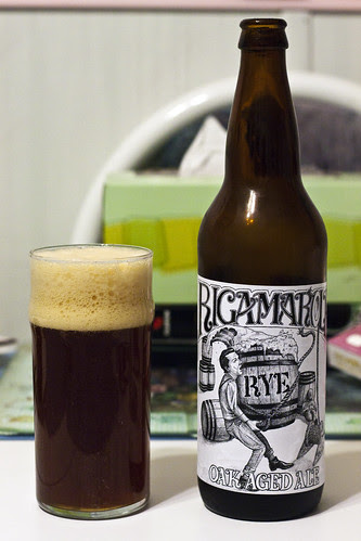 Half Pints' Rigamarole Rye Ale by Cody La Bière