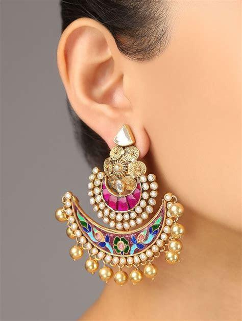 25  best ideas about Indian Earrings on Pinterest   Tribal