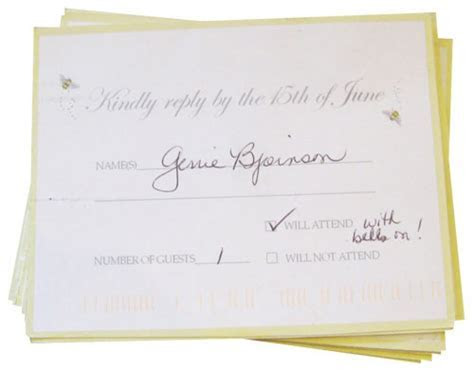 Wedding Invitation: Charming Wedding Rsvp Cards