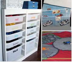 For the requested Lego Room on Pinterest