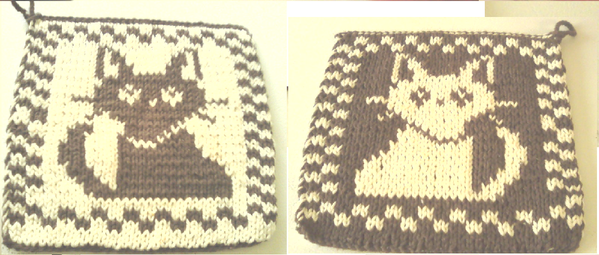 Crochet Cat Potholder Pattern | Crochet cat pattern, Crochet cat ... | 511x1201
