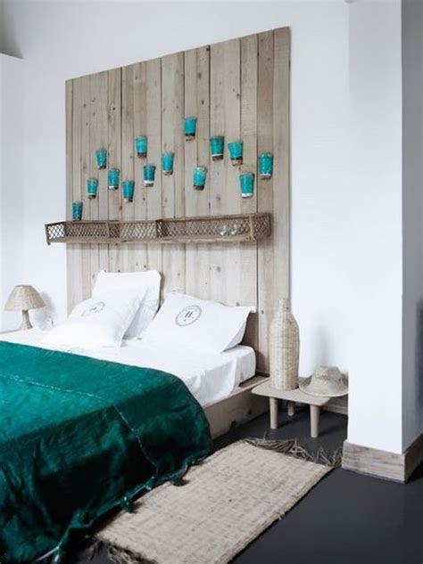 kreative deko ideen schlafzimmer mit diy kopfteil aus