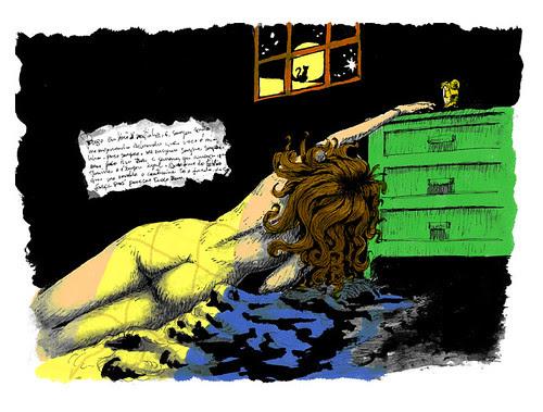 De noite na cama by Foca Cruz