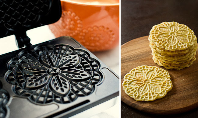 Pizzelle Cookie Recipe Learn how to make these!