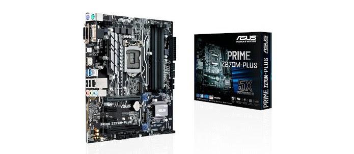 ASUS Prime Z270M-Plus tem suporte à overclock de memória (Foto: Divulgação/ASUS)