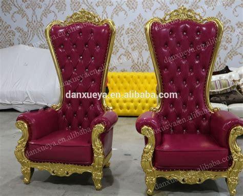 Danxueya White Wholesale Throne Chairs Luxury Wedding