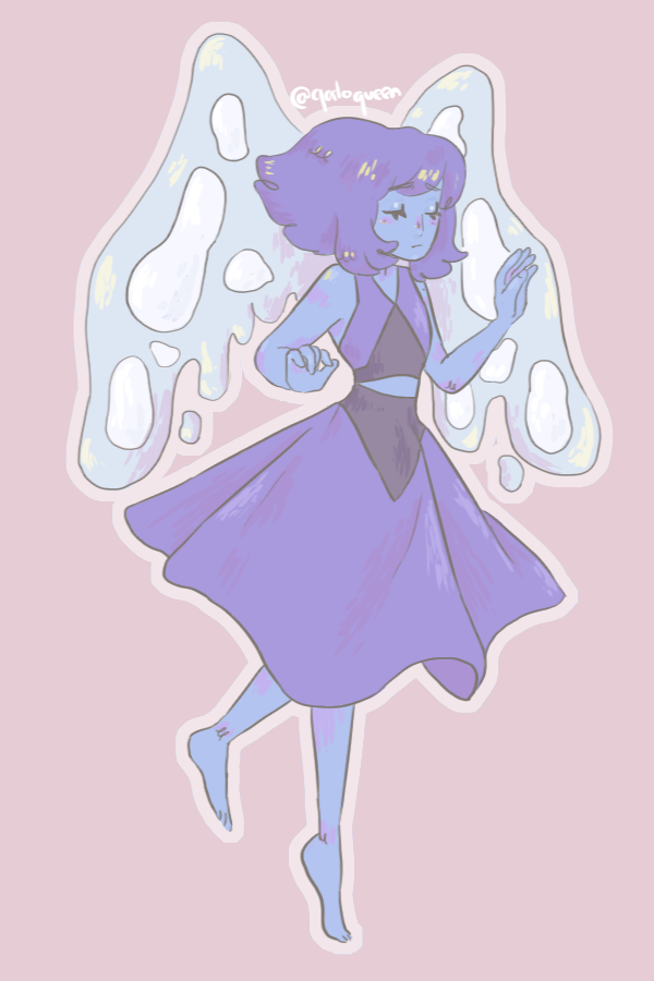 I always forget to post my stuff, next one in the SU pastel thingy: LAPIS!!