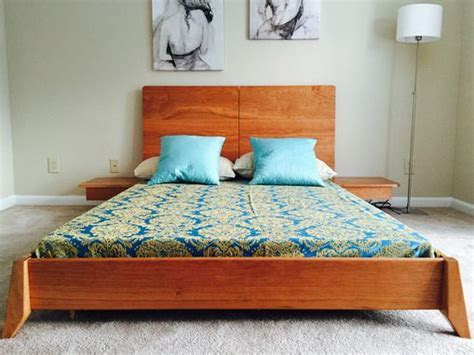 Buy a Hand Made Solid Wood Platform Bed, made to order