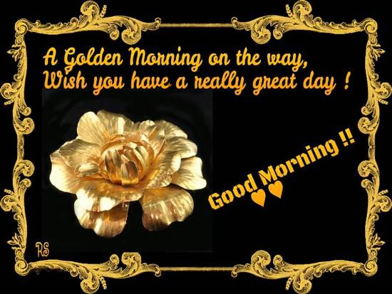 A Lovely Good Morning Wish For You Free Good Morning Ecards 123