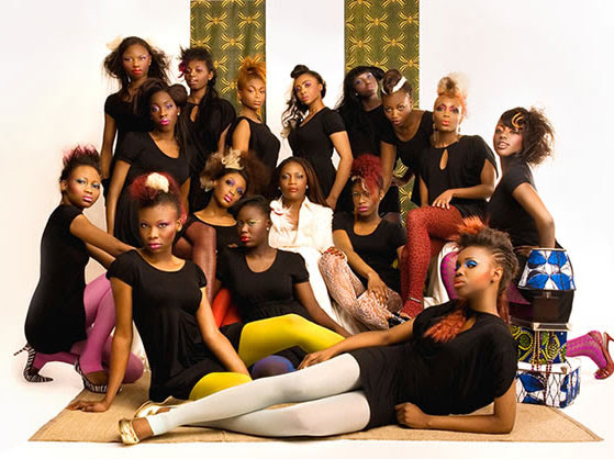 Nigeria's Next Top Model Contestants