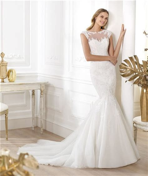 Mermaid Bateau Sheer Illusion Neckline Cap Sleeve Tulle