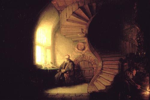 Philosopher in Meditation - Rembrandt