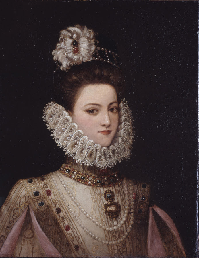 Portrait of A Lady, ca. 1585 (Unknown Artist) Bowdoin College Museum of Art