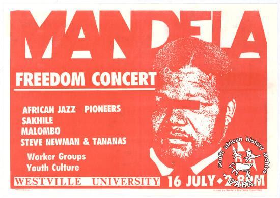 Mandela freedom concert.