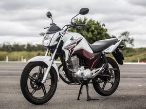 Honda CG 150 Titan 2014 (Foto: Raul Zito/G1)