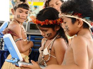 Maioria das escolas estaduais de Roraima é indígena (Foto: France Telles/ Divulgação)