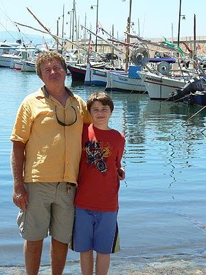 paul et philippe sur le port de saint tropez.jpg