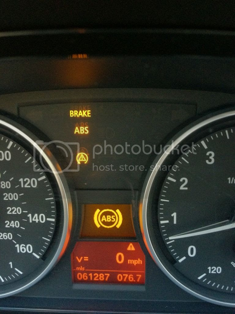 Help Yellow Dtc And Abs Lights Have Come On