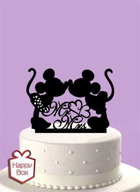 Adorno Para Torta Casamiento Mickey Mouse/ Cake Topper