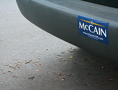 McCain MassGOP Bumper Sticker