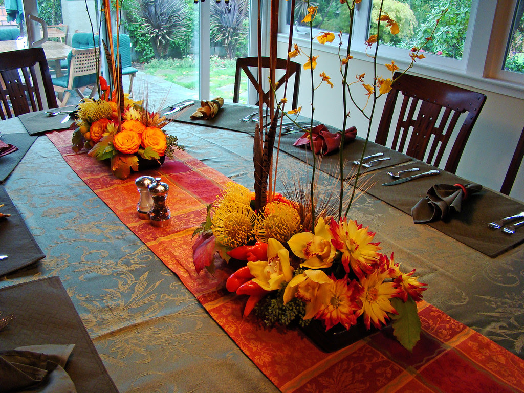 DSC03025 - autumn centerpiece