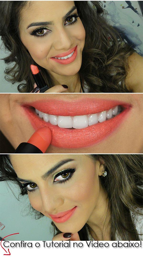 maquiagem verao glamour