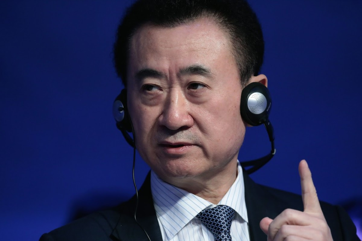 Wang Jianlin, president of Dalian Wanda. Photo: Bloomberg