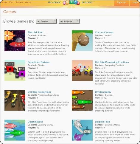 http://www.arcademicskillbuilders.com/games/