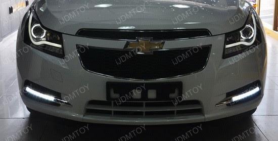 2011 2014 Chevrolet Cruze Led Drl Daytime Running Light Install Guide Ijdmtoy Com