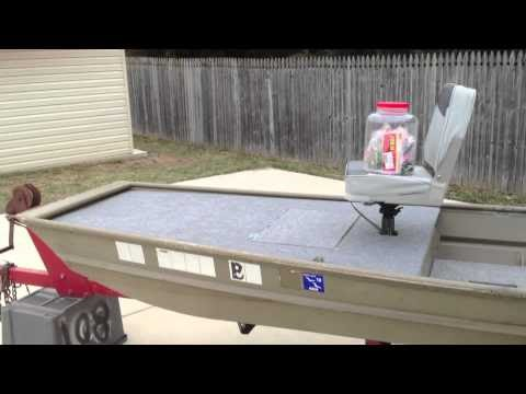 New DIY Boat: Free How to build a deck on your jon boat