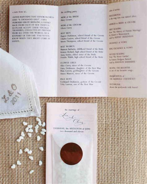 The Ultimate Wedding Ceremony Checklist   Martha Stewart