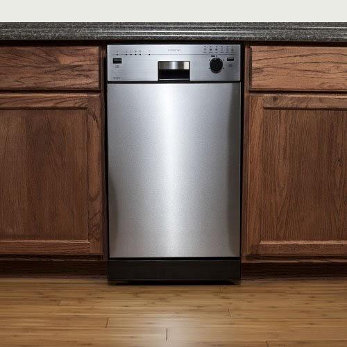 Edgestar Energy Star 18 Quot Built In Dishwasher Stainless