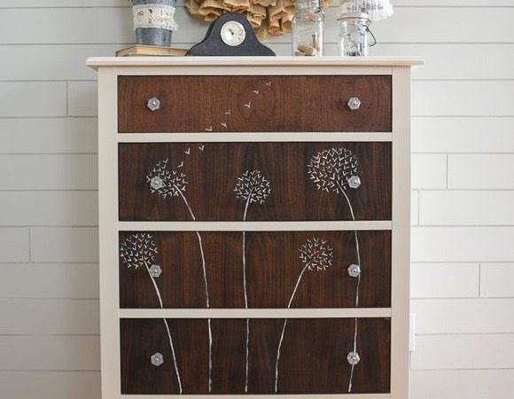 dandelion handpainte dresser start at home decor