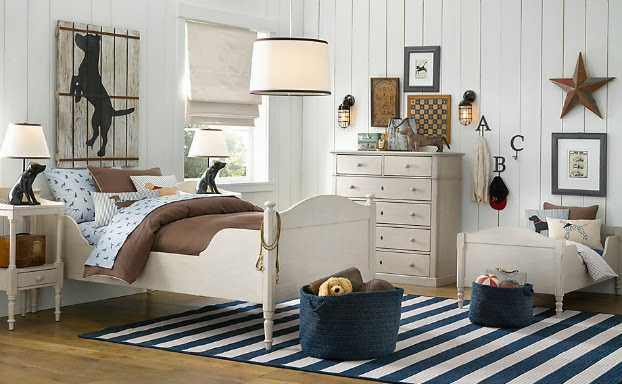 cottage boys room decorating ideas